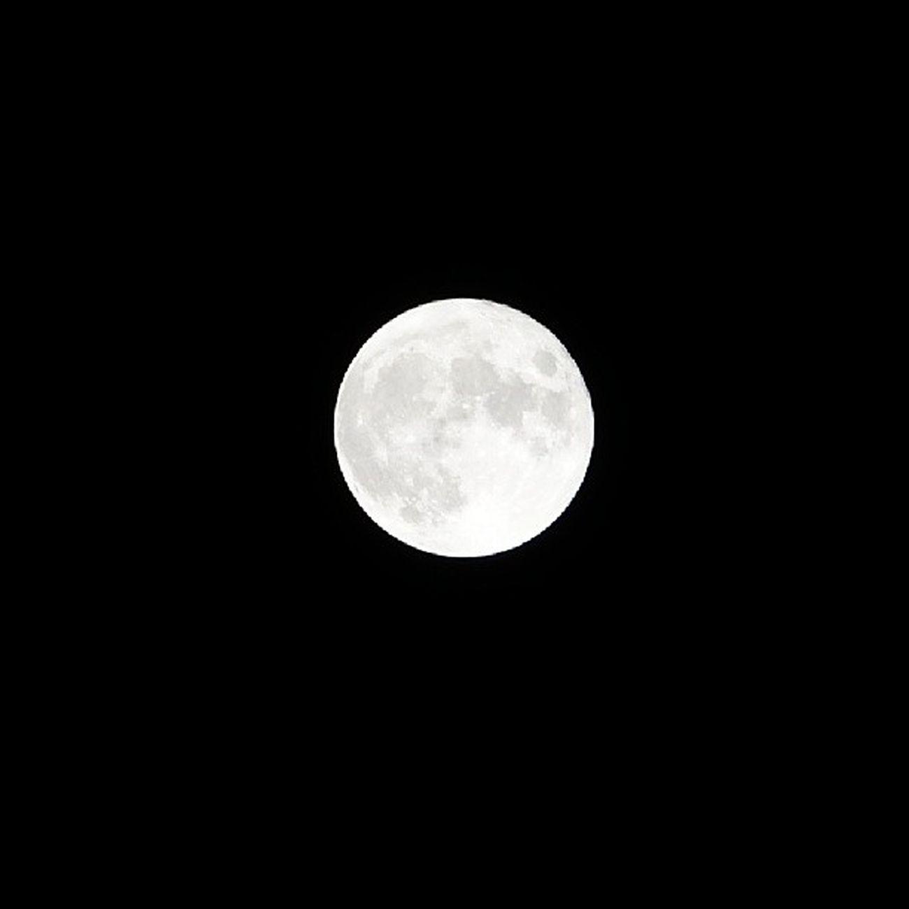La pleine lune du 24 décembre 2014 à Gouvieux Nofilter Lune Moon picardie oise 60270 noel
