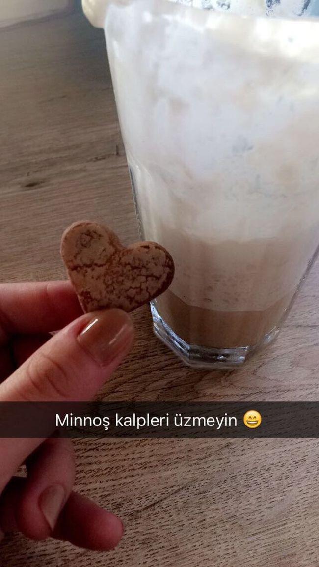 Heart & Cookies Coffee Iced Sweet
