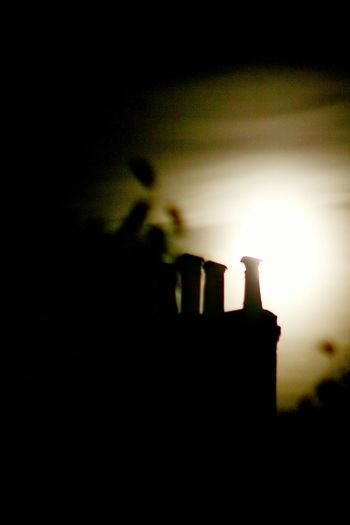 Untitled Chimney Stacks Chimneys Silhouette Night No People Outdoors Sky Discover London Untitled DeeArt Minimalism N16 City Stokenewington Hackney Stoke Newington Minimalist Photography  Untitled Photography Built Structure Architecture Chimney Tops Chimney Pots Chimneypots Chimney Silhouette Chimneytops
