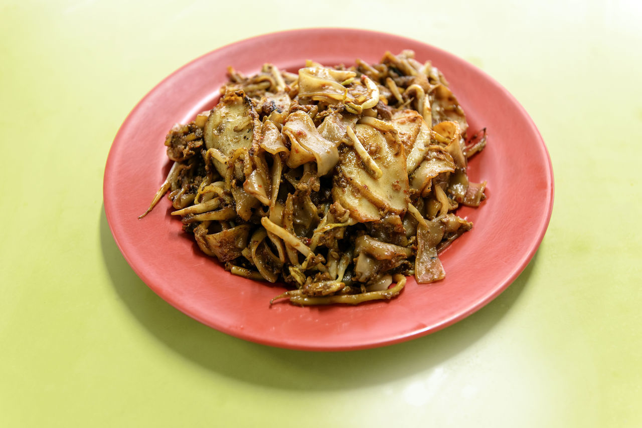Char Kuay Teow Close-up Day Food Food And Drink Fried Kuay Teow Fried Noodles Hawker Food Indoors  No People Noodles Plate Ready-to-eat