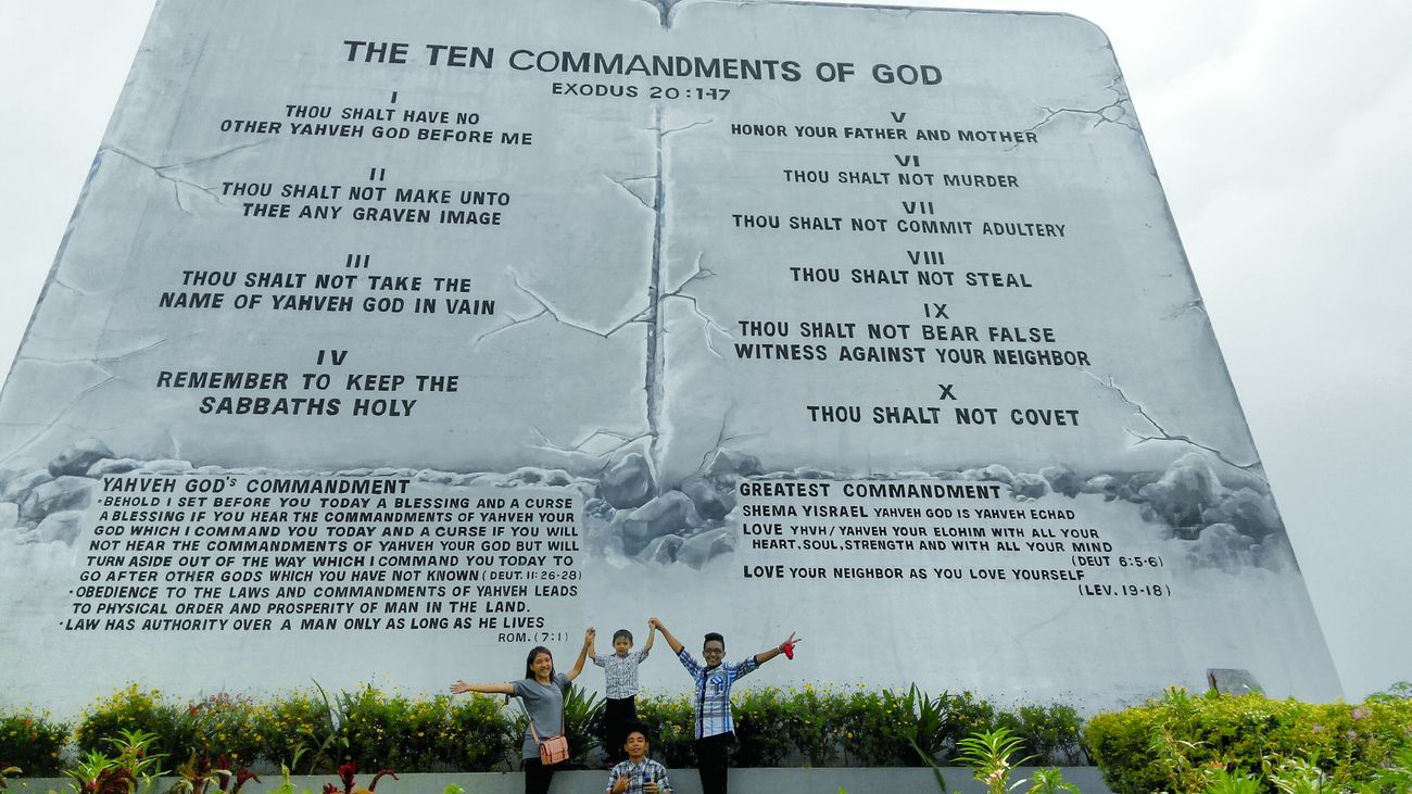 largest 10 Commandments tablet Guiness Worldrecord EyeemPhilippines