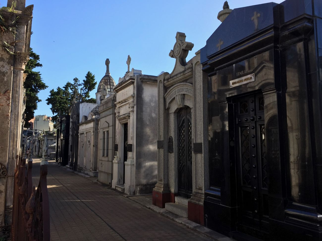 Recoleta Cemetery in Buenos Aires Argentina Architecture Argentina Buenos Aires Building Exterior Built Structure Cemetery City Clear Sky Day History Mausoleum No People Outdoors Recoleta Recoleta Cemetery Sculpture Sky Statue Neighborhood Map