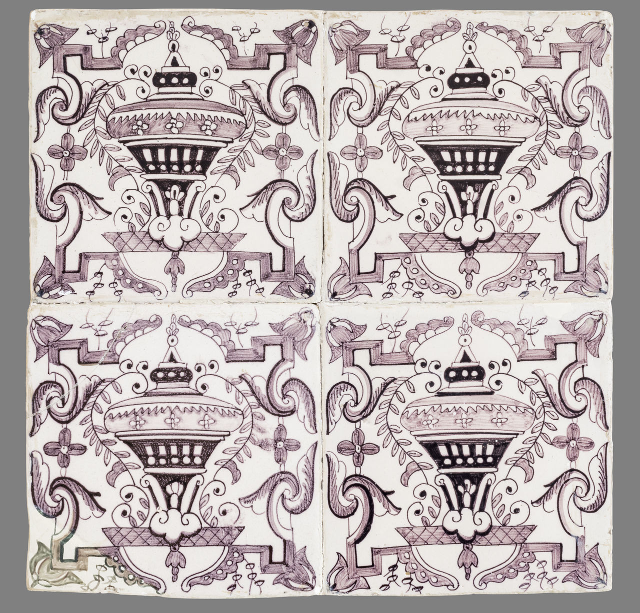 16th Century 17th Century 18th Century Backgrounds Close-up Day Design Floral Pattern Historic Indoors  Luxury No People Ornate Pattern Tile