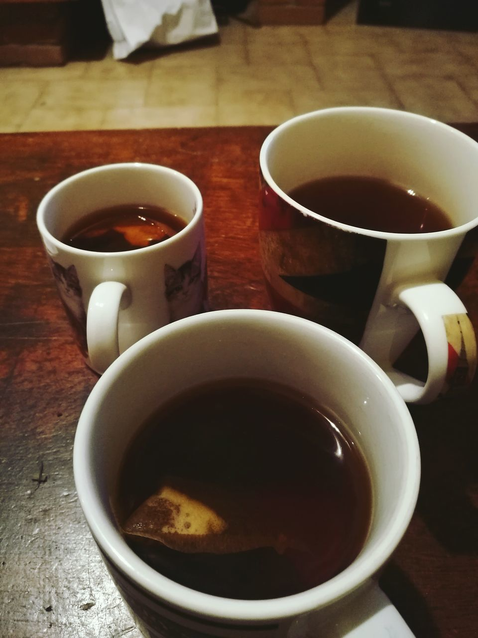drink, coffee cup, food and drink, refreshment, table, coffee - drink, cup, indoors, saucer, close-up, freshness, tea - hot drink, no people, day
