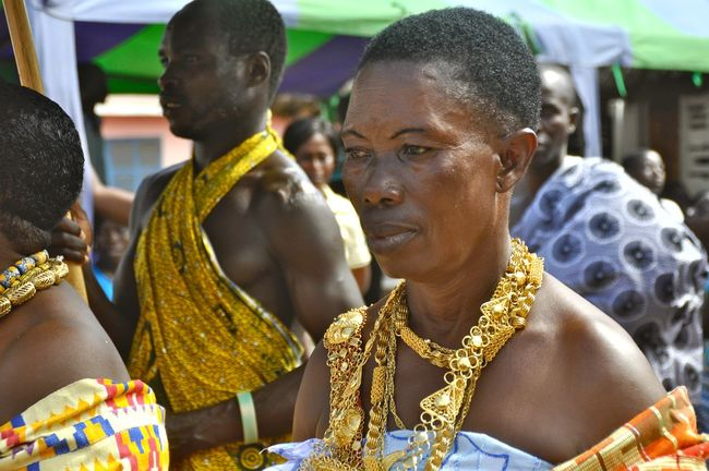 Africa Chief Culture Culture And Heritage Culture And Rituals Culture And Tradition Cultures Focus On Foreground Ghana Gold Heritage Juwellery Portrait Portrait Of A Woman Religious  Tradition Traditional Clothing Traditional Culture Tribal Tribe Tribes Woman