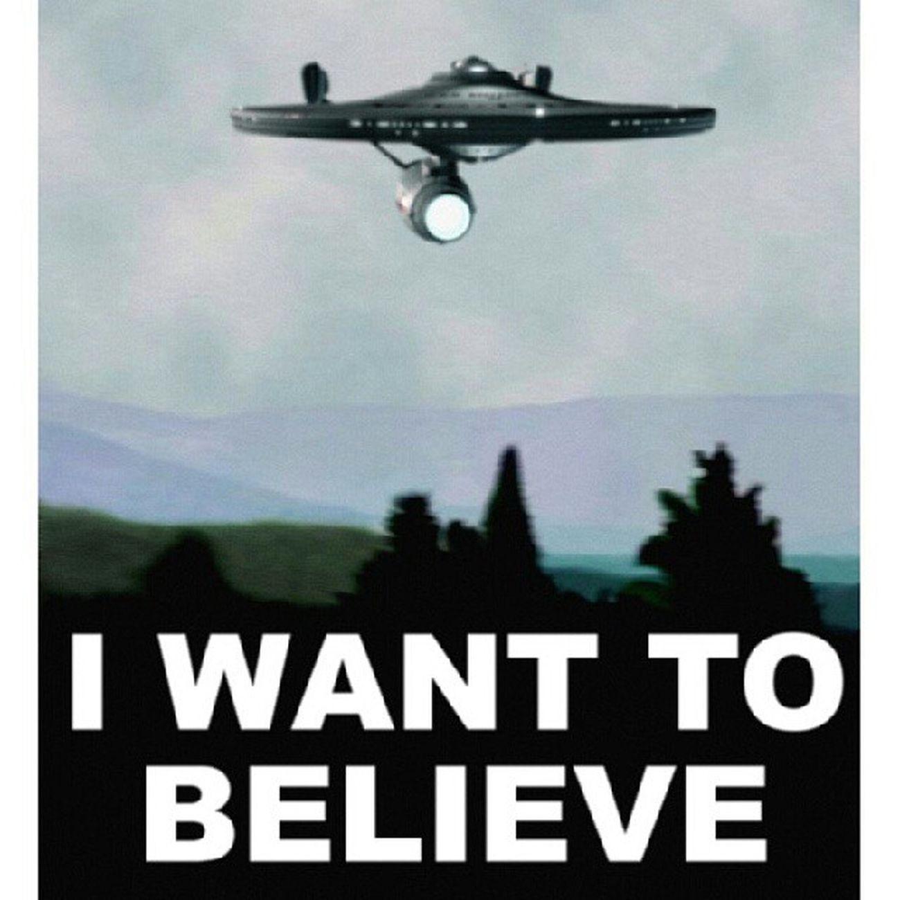 Startrek X -Files Iwanttobelieve Enterprise