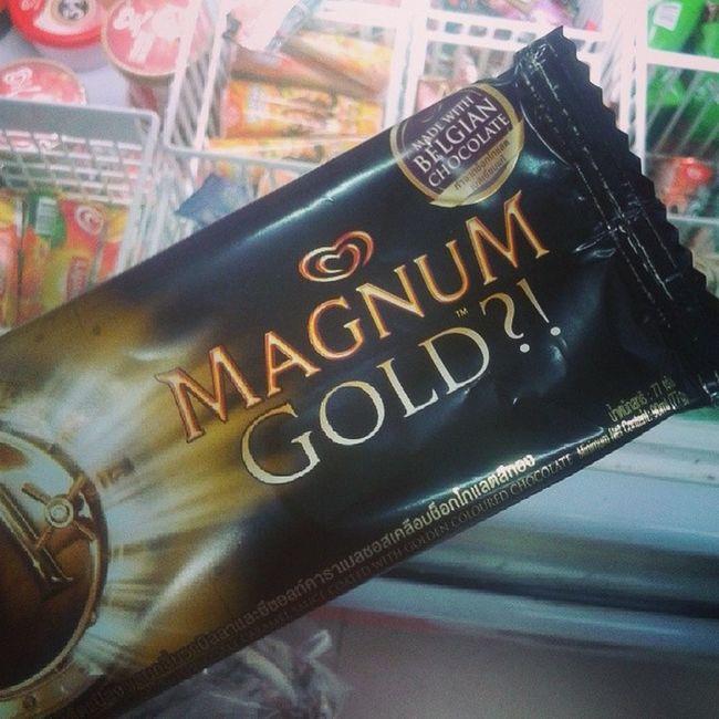 กินหรู Magnumthailand Limited edition ice cream Magnumgold