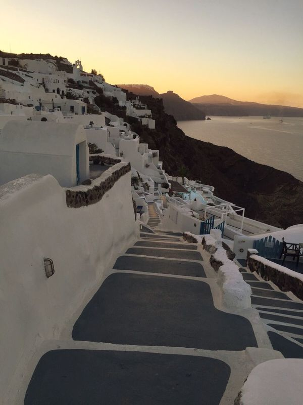 Early morning in Oia Santorini From Santorini With Love City Architecture Life Is A Journey.