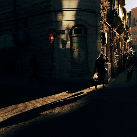 A Winter day in Jerusalem Israel Street Sunset Sunset_collection Shadows & Lights Light And Shadow Light Streetphotography Street Photography Woman Sunlight Sunlight ☀ Moody Jerusalem❤ Jerusalemoftheday