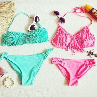 These for summer TwOpiece Summer ☀ Bikinis