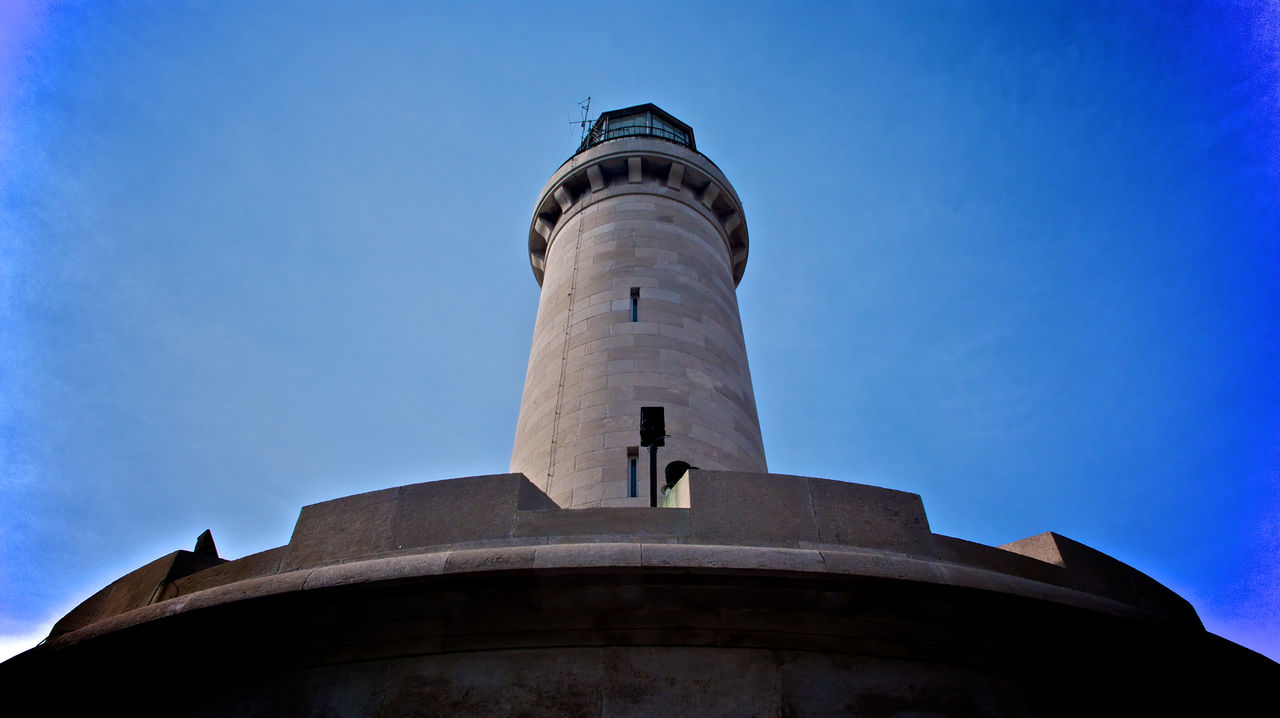 Lanterna's lighthouse Architecture Building Exterior Lanterna Lighthouse Low Angle View Maritime Photography No People Outdoors Travel Pictures Trieste