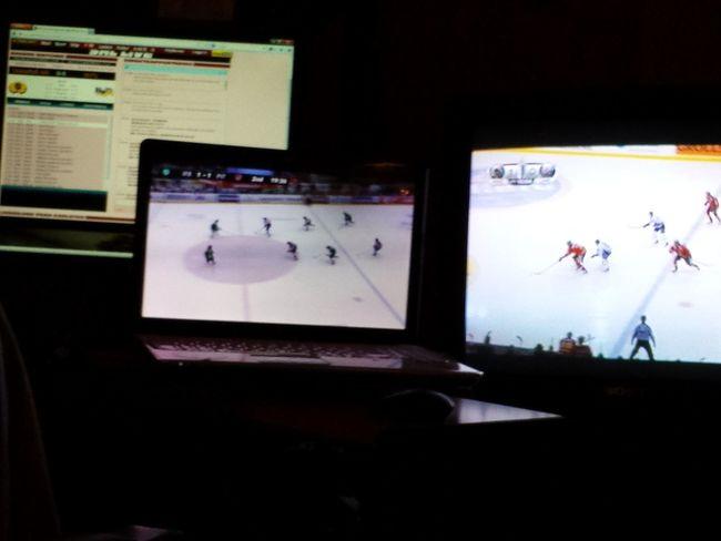 Hockeysöndag! är de slutspel så är de ;-)