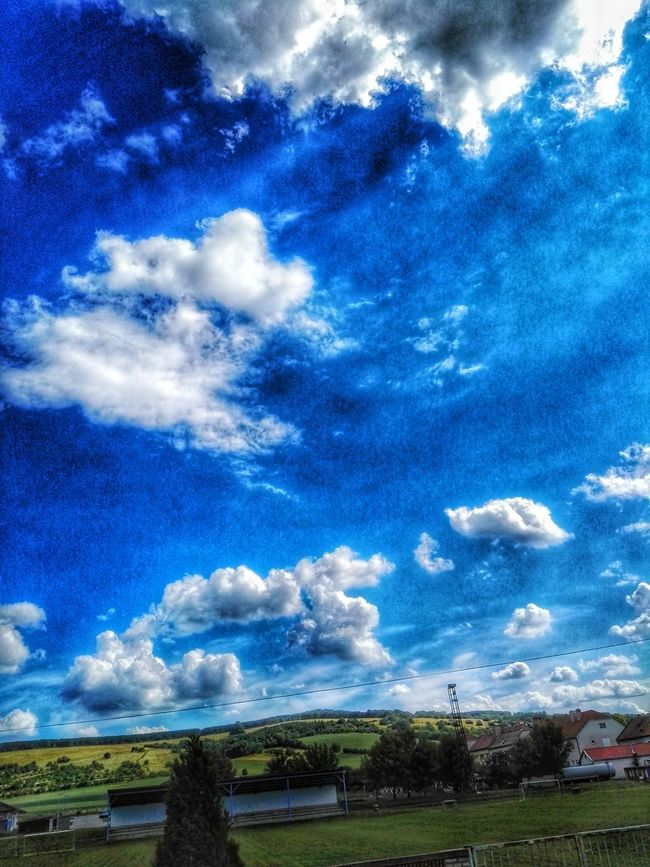 Taking Photos Nature Photography Nature Blue Sky Clouds And Sky Panorama Sunny Day Summer2016 Chill Air Upintheair Czech Sun Check This Out HDR Effects & Filters HuaweiP8