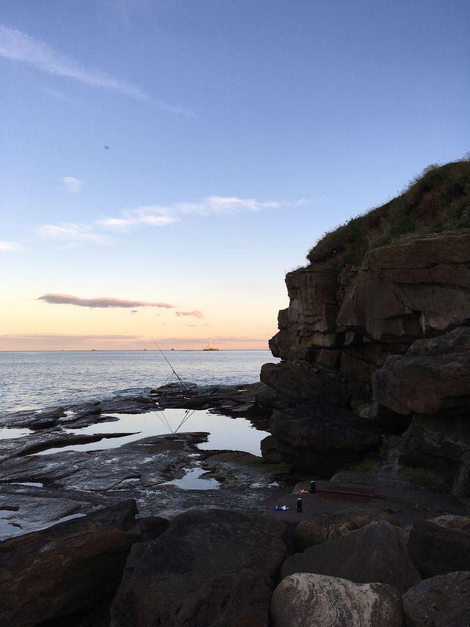 Nofilter Sunset Sea And Sky Rocks First Eyeem Photo