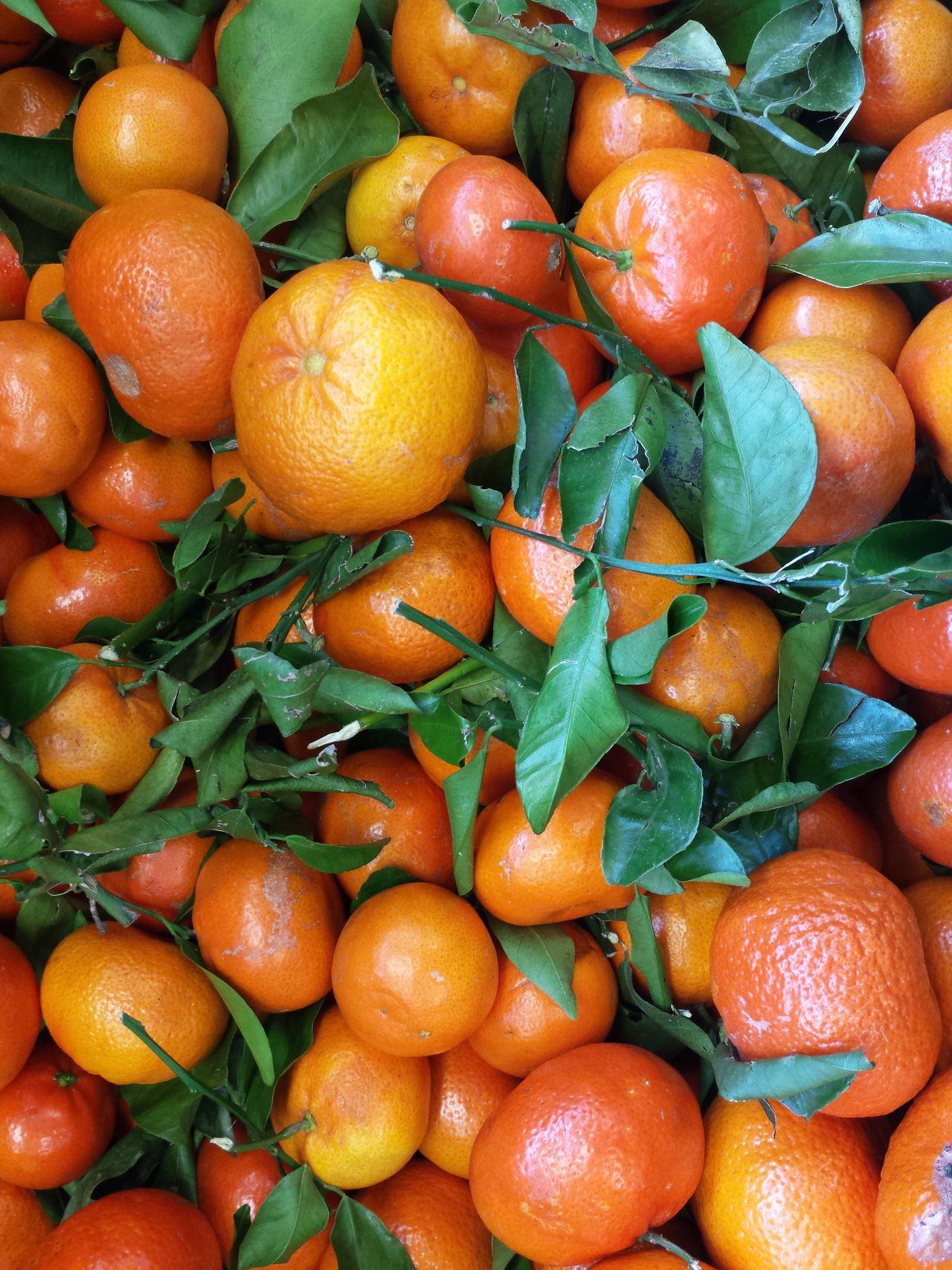 Farbenfroh Q Grün Orange Color Orange Green Mandarin Oranges Mandarinen Obst & Gemüse Obst Fruits Food Foodphotography Food Market The Essence Of Summer