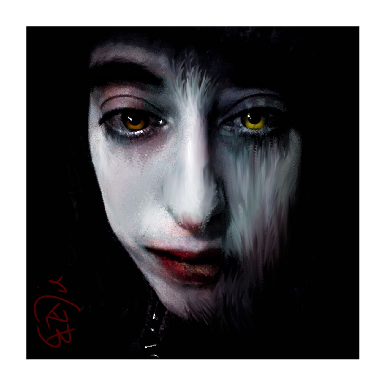 Pop dark Digital Art Masters_of_darkness Darkart