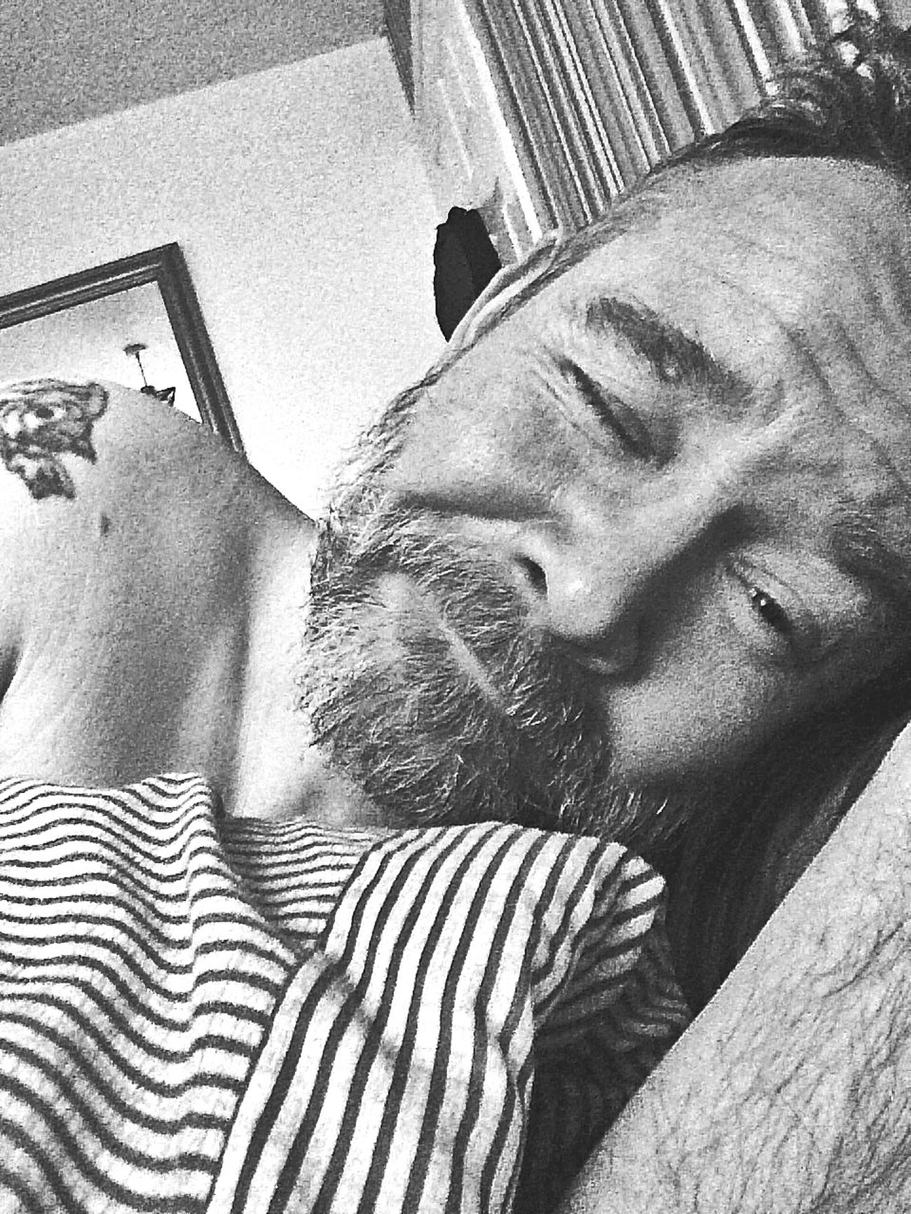 Waking up selfie That's Me Gay Black And White EyeEm Best Shots - Black + White Monochrome EyeEm Best Selfie's  EyeEm Best Shots Eye4photography  Bw_collection Men