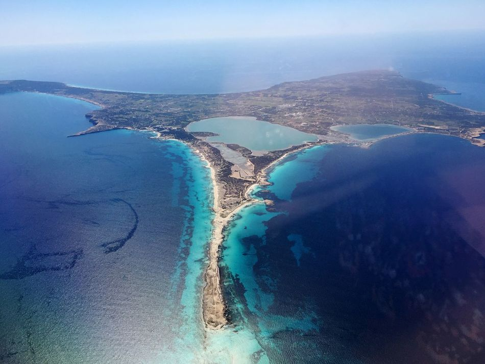 Formentera 2017 Formentera Formentera Island Water Nature Scenics Beauty In Nature High Angle View Sea Tranquility Aerial View Landscape Beach Island Day Sky Outdoors Tranquil Scene Real People EyeEmNewHere