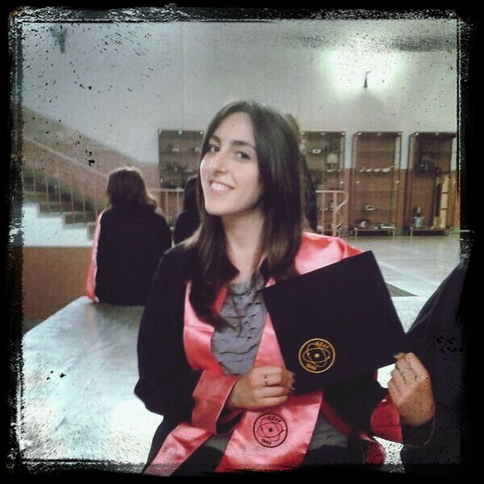 Graduation ♡ Chemistry(: That's Me Ankara University