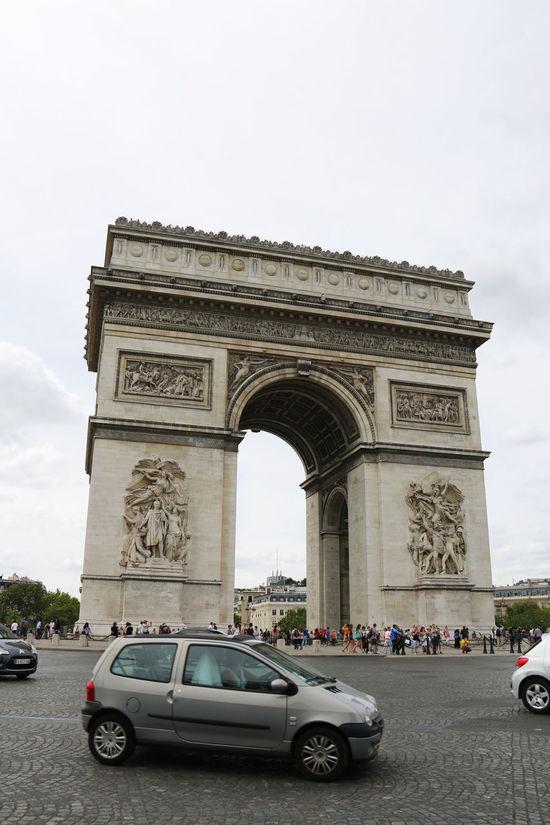 Arc De Triomphe Arch De Triumph Architecture Famous Place France Low-angle Shot National Landmark Paris Tourist Attraction  Tourist Destination Travel Destinations