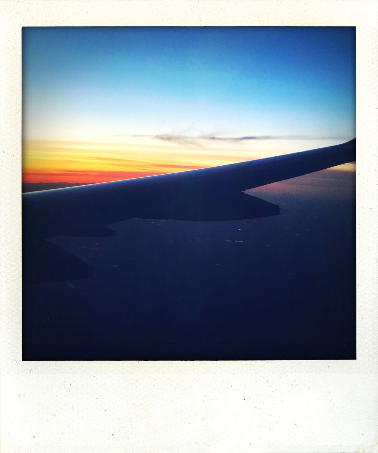 Shake It Photo Aerial View Airplane Wing Journey Sunset Koduckgirl