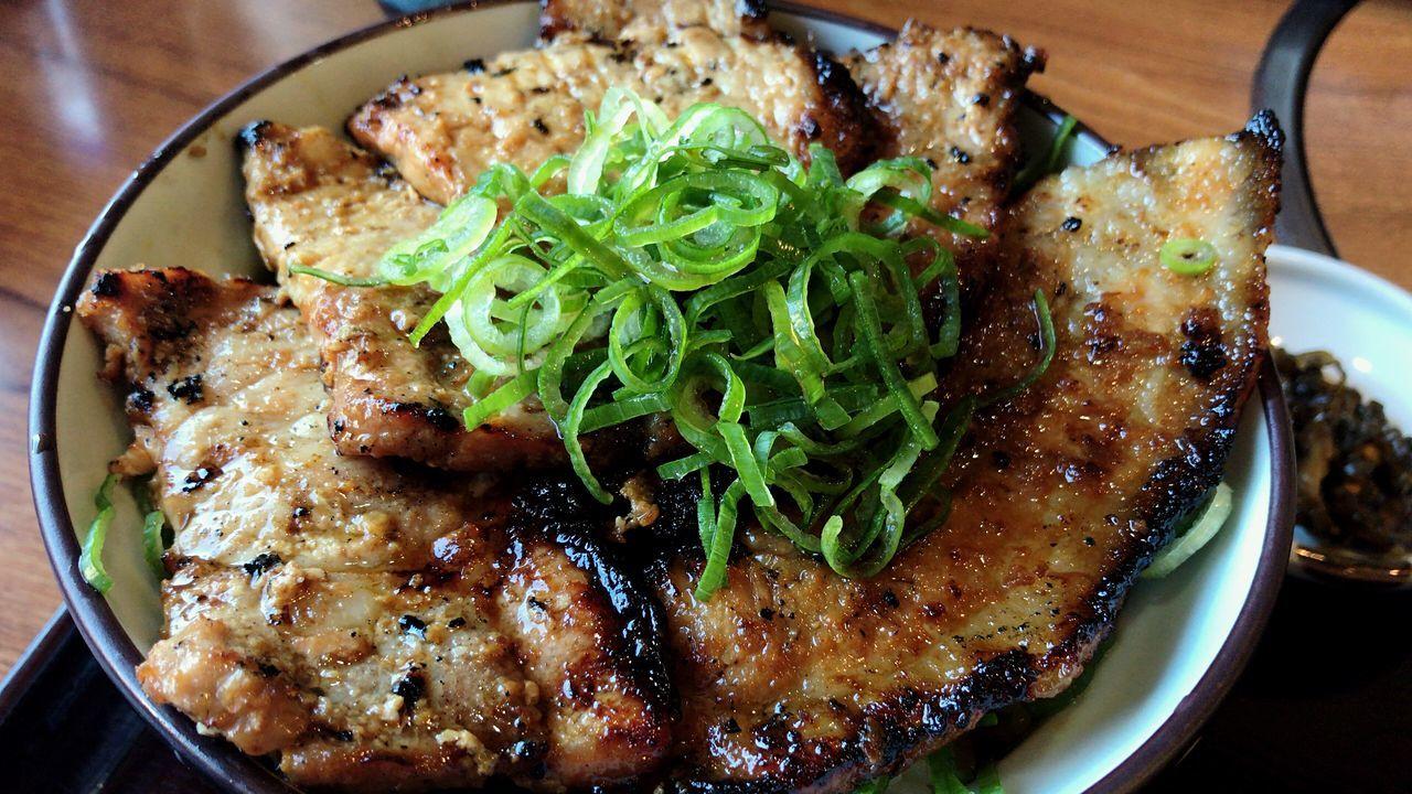 野さか NOSAKA 秩父 Chichibu 豚みそ丼 Miso-butadon Bowl Of Rice Delicious Butadonburi