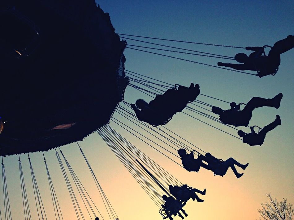 Beautiful stock photos of cool, Amusement Park, Amusement Park Ride, Arts Culture And Entertainment, Chain Swing Ride