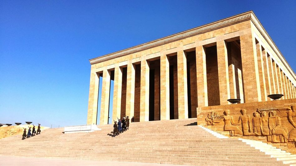 Beautiful stock photos of ankara, architecture, built structure, clear sky, full length