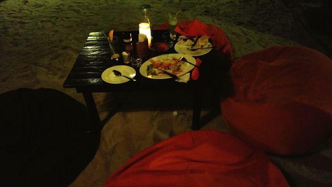 Beach Dinner For Two seabreeze Freshness love