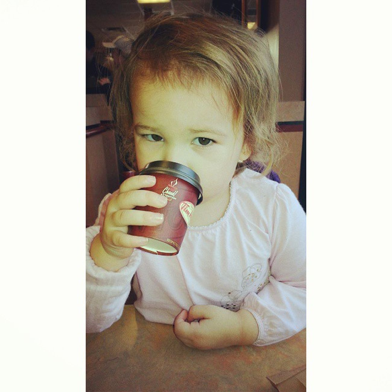 Its hot chocolate <3 Timhortons Love Sosilly <3
