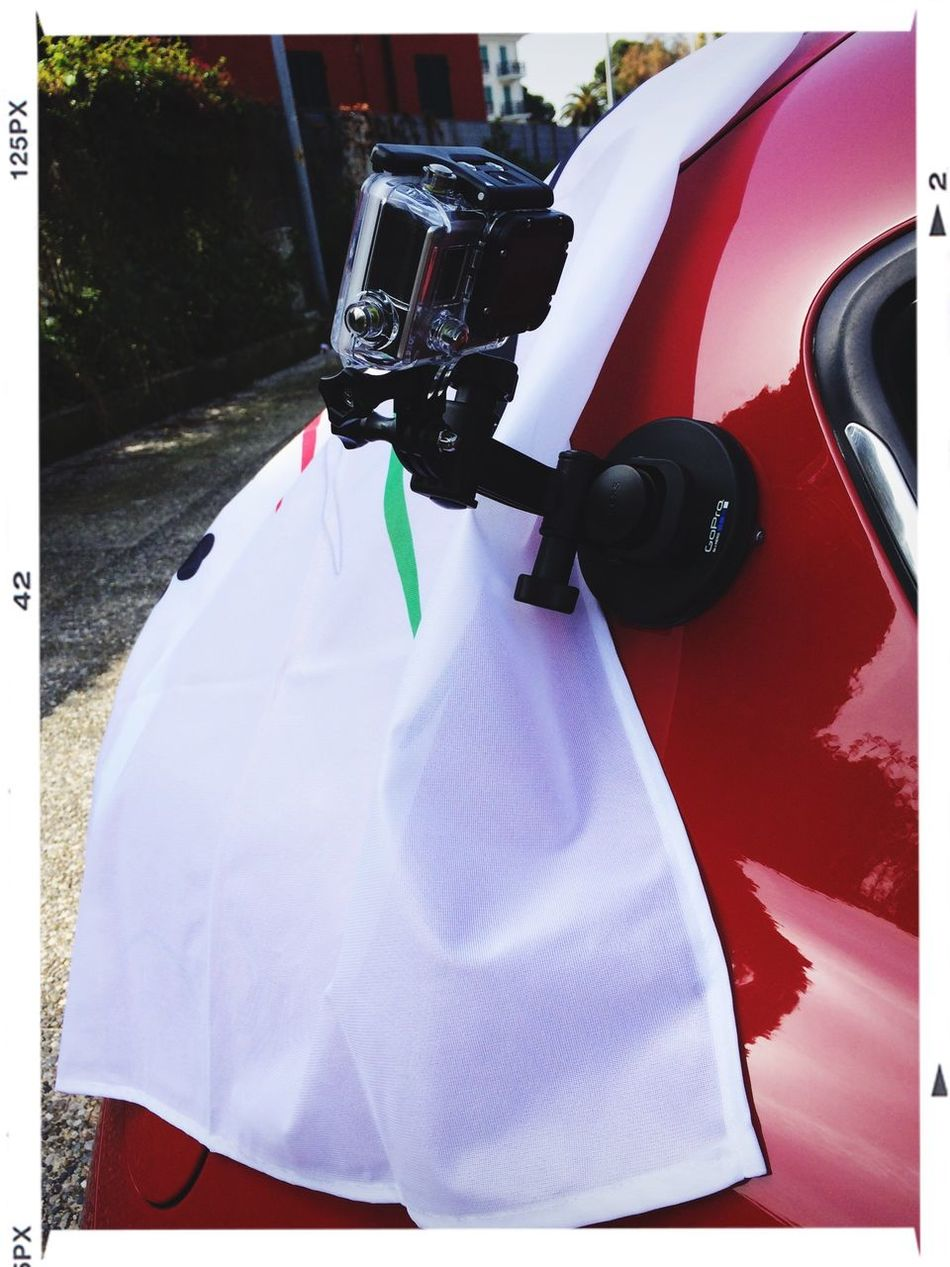 Gopro Stuff in Action with Alfaromeo