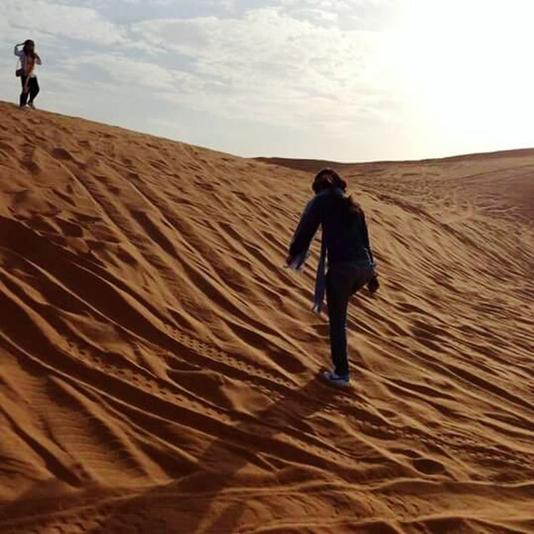 Deserts Around The World when things dont go your way.. dont give up. There might be other things suited for you. Cheerup Mothernature Redsand Climb To The Top SandyDay