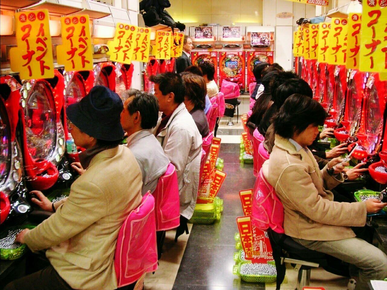 Pachinko parlor Pachinko In Japan Pachinko Tokyo