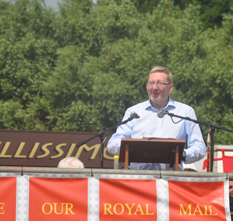 A selection of speakers at the 2013 Durham Miners Gala County Durham Durham City Durham Cricket Durham Miners Gala Labour Party Left Wing Len Mccluskey Morning Star Socialist Union Unite The Union