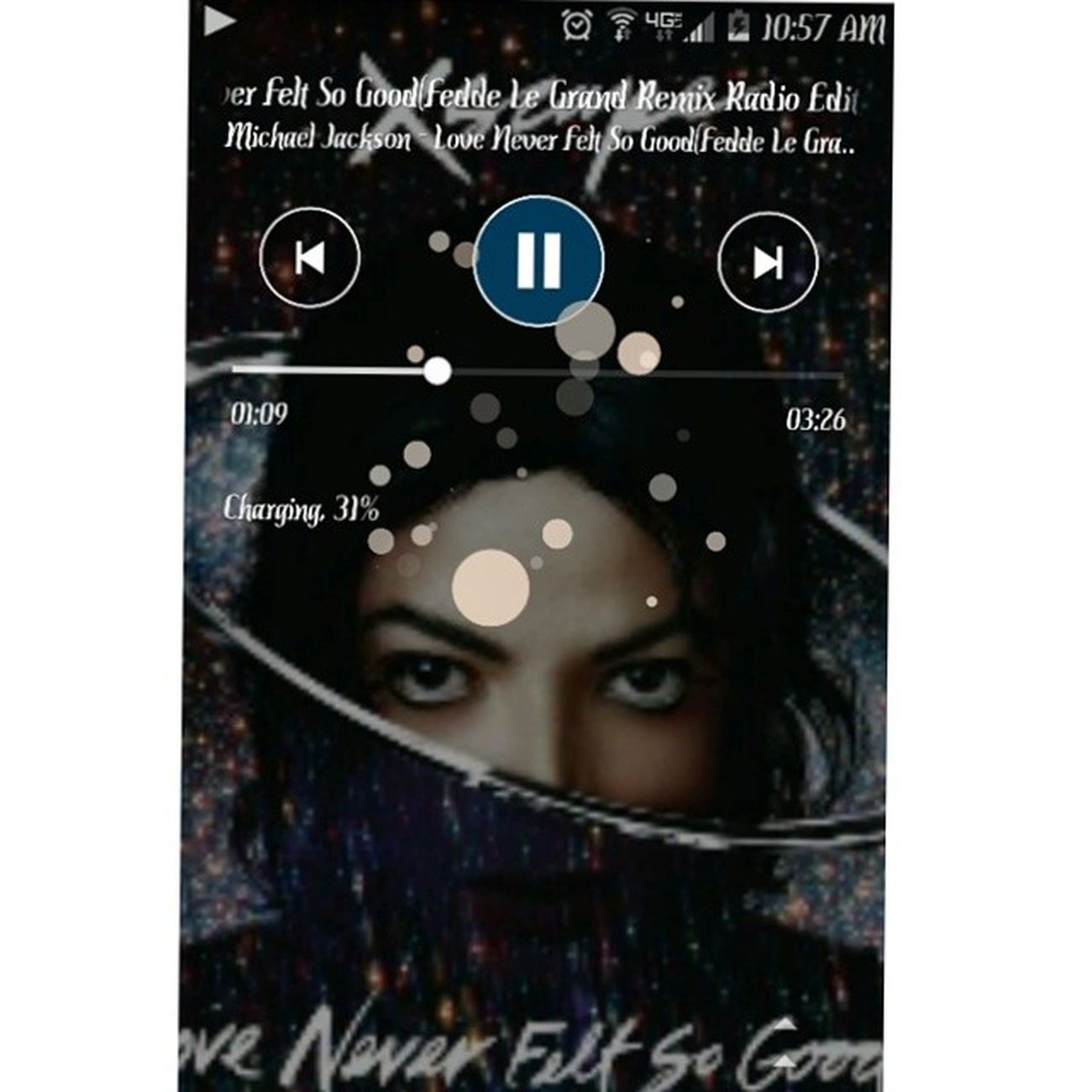 Michael Jackson kinda morning... LoveNeverFeltSoGood