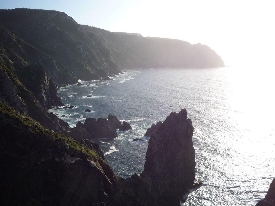 Galicia SPAIN España Precipício Rocks Rocas Enjoying Life Taking Photos Sea The Purist (no Edit, No Filter)