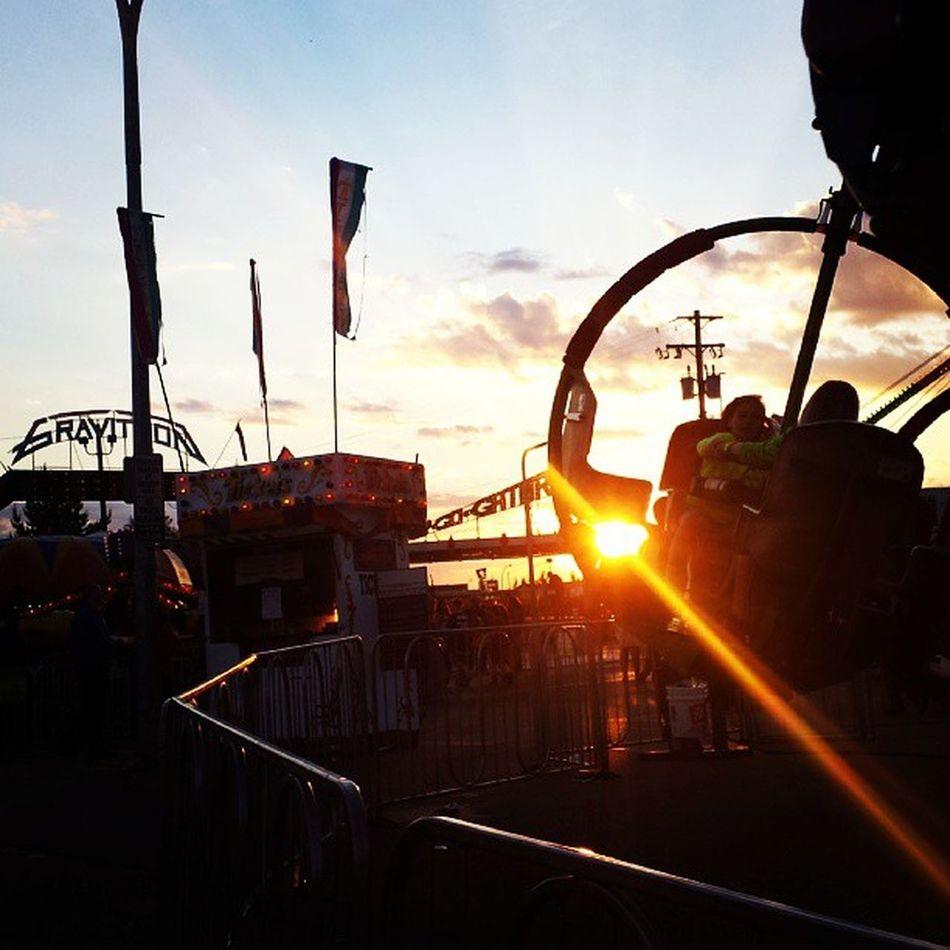 Gravitron Sunset