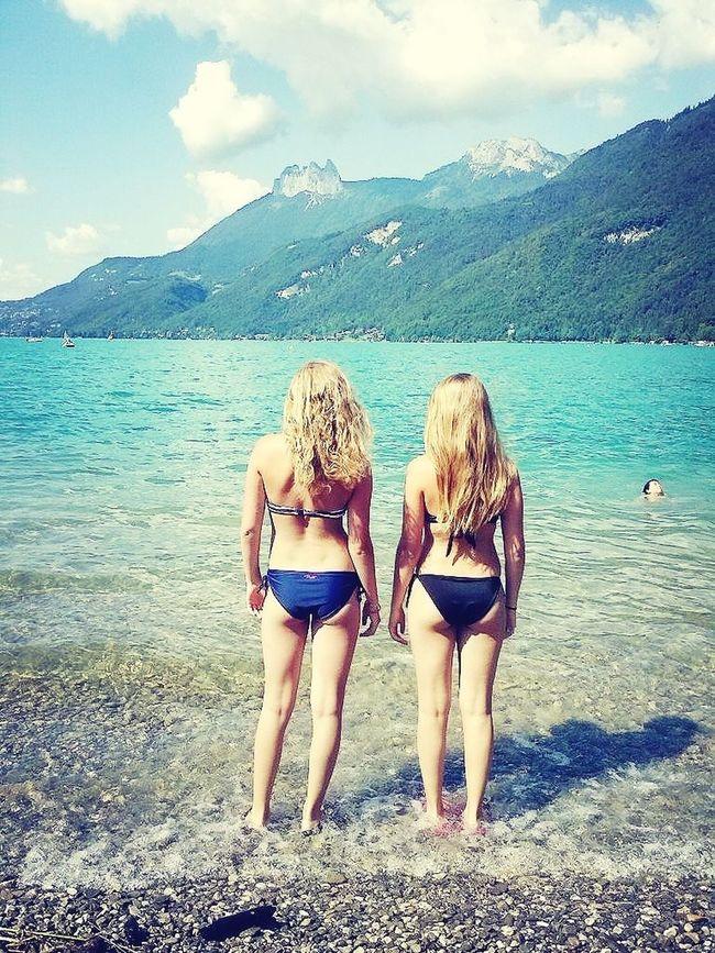 Met lieve marith bij het meer