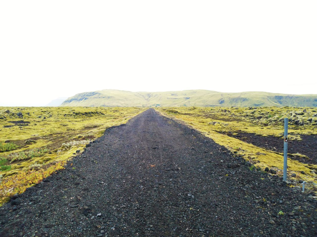 Beauty In Nature Landscape Nature No People Outdoors Road Tranquility Volcanic Landscape Islande Island Life Iceland_collection Icelandtrip