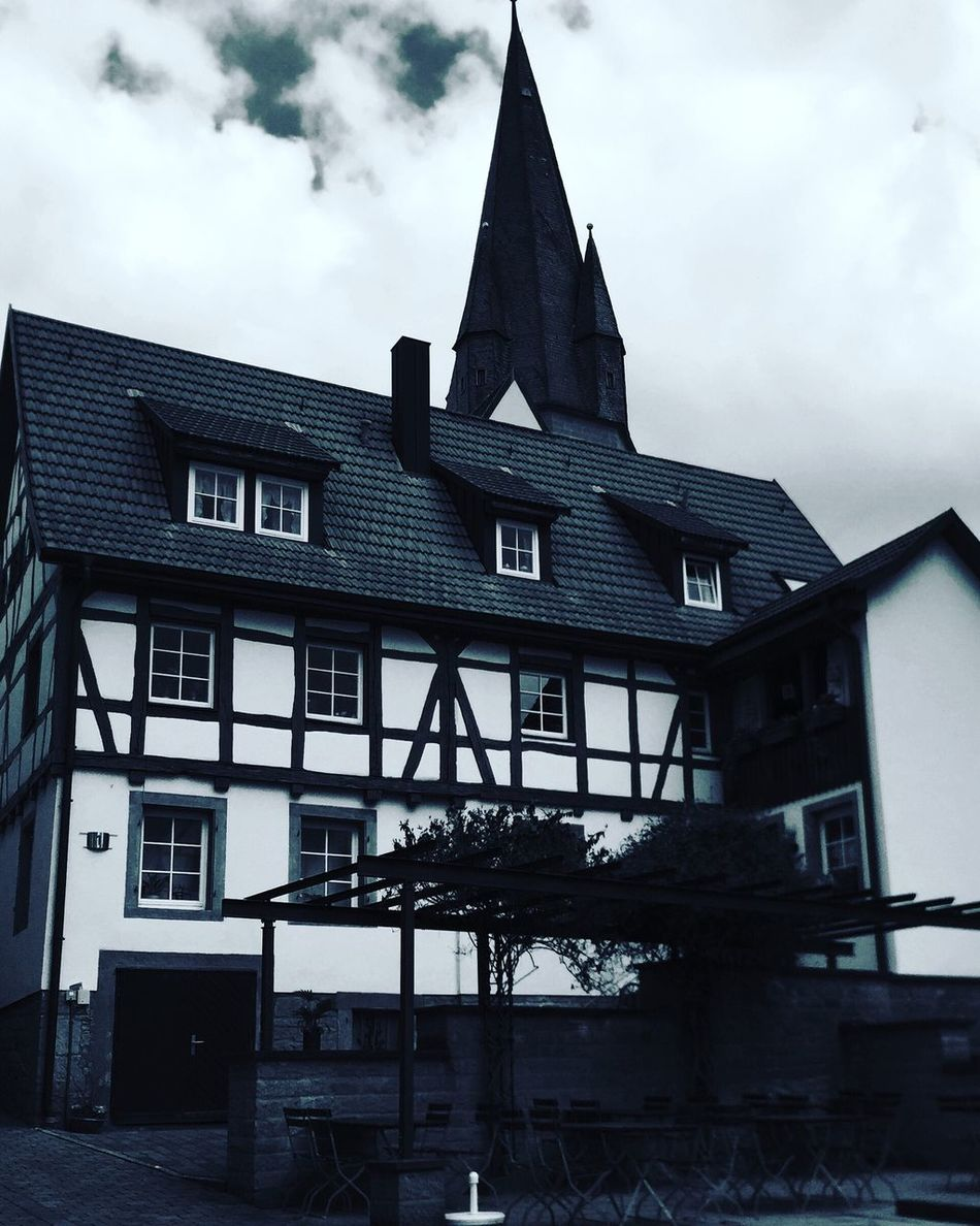 Altstadt Eppingen First Eyeem Photo Blackandwhite Buildinds Love ♥
