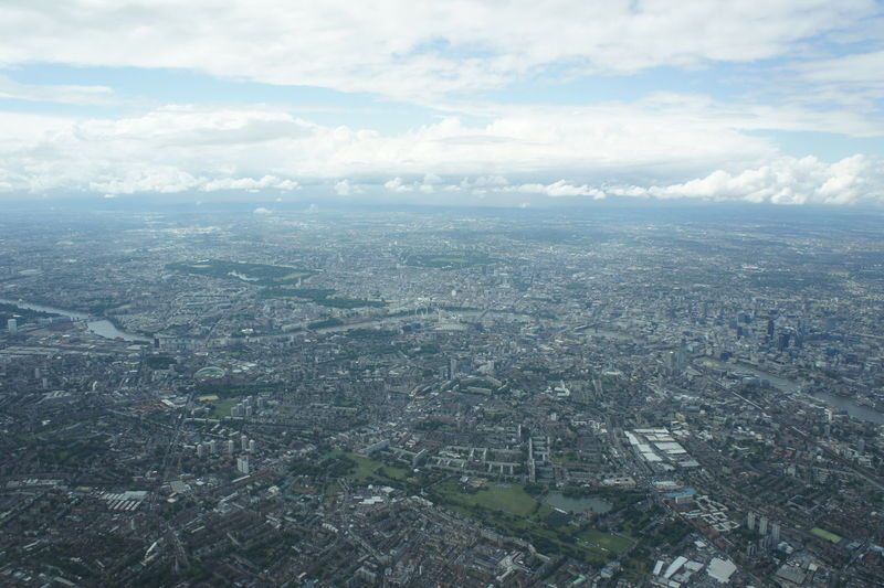 London from above 1 #bigcity #buildings #City #cityscapes #largecity #london #monuments Aerial View Architecture Day From An Airplane Window Outdoors Sky Travel Destinations Urban Sprawl Urbanskyline