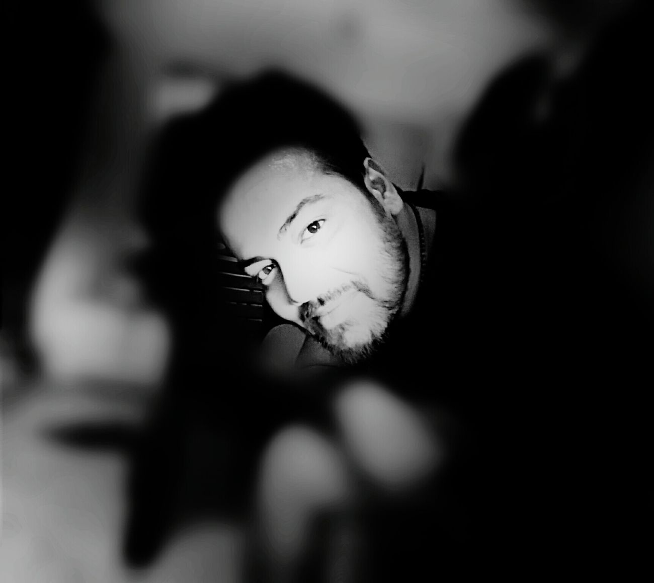 Hello World Inside My Room Alone Time Check This Out That's Me! Model Black And White Self Portrait Great Evening Portrait Of A Man  😊😊😊 Smile