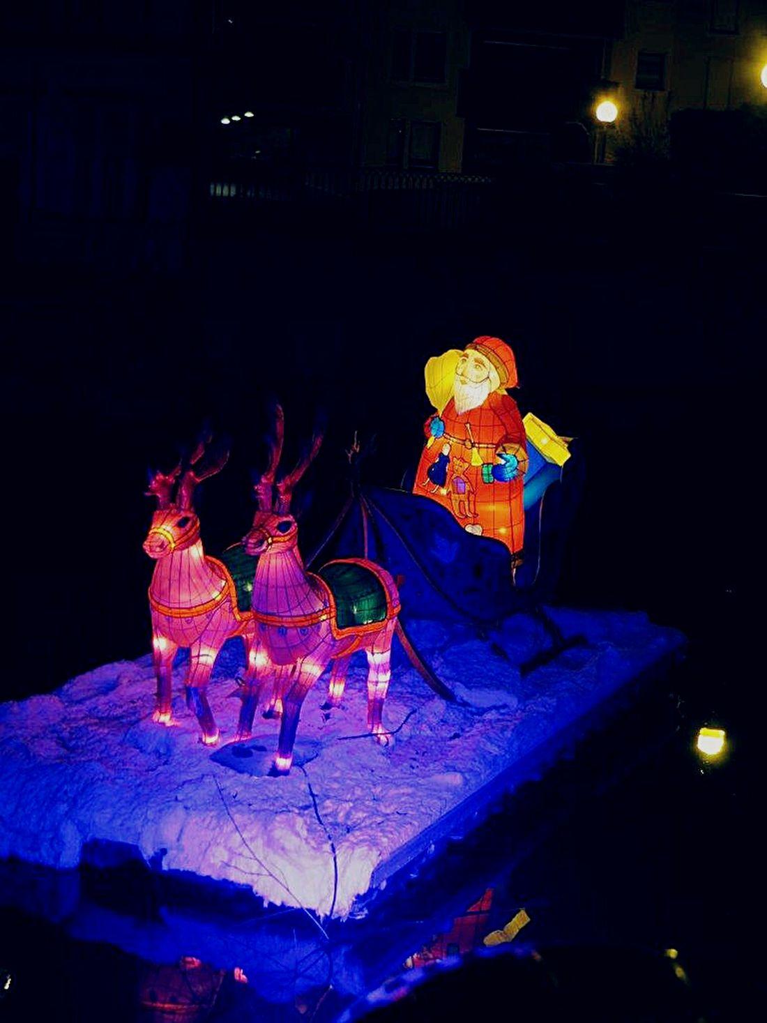 Sentier Des Lanternes Metz, France Noel2014 Père Noël Santa Claus Santy