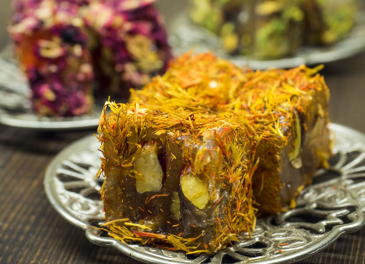 Turkish sweets - lukum Phistachio Sugar Turkey Close-up Food Freshness Handmade Indoors  Lukum No People Roses Sweet Sweet Food