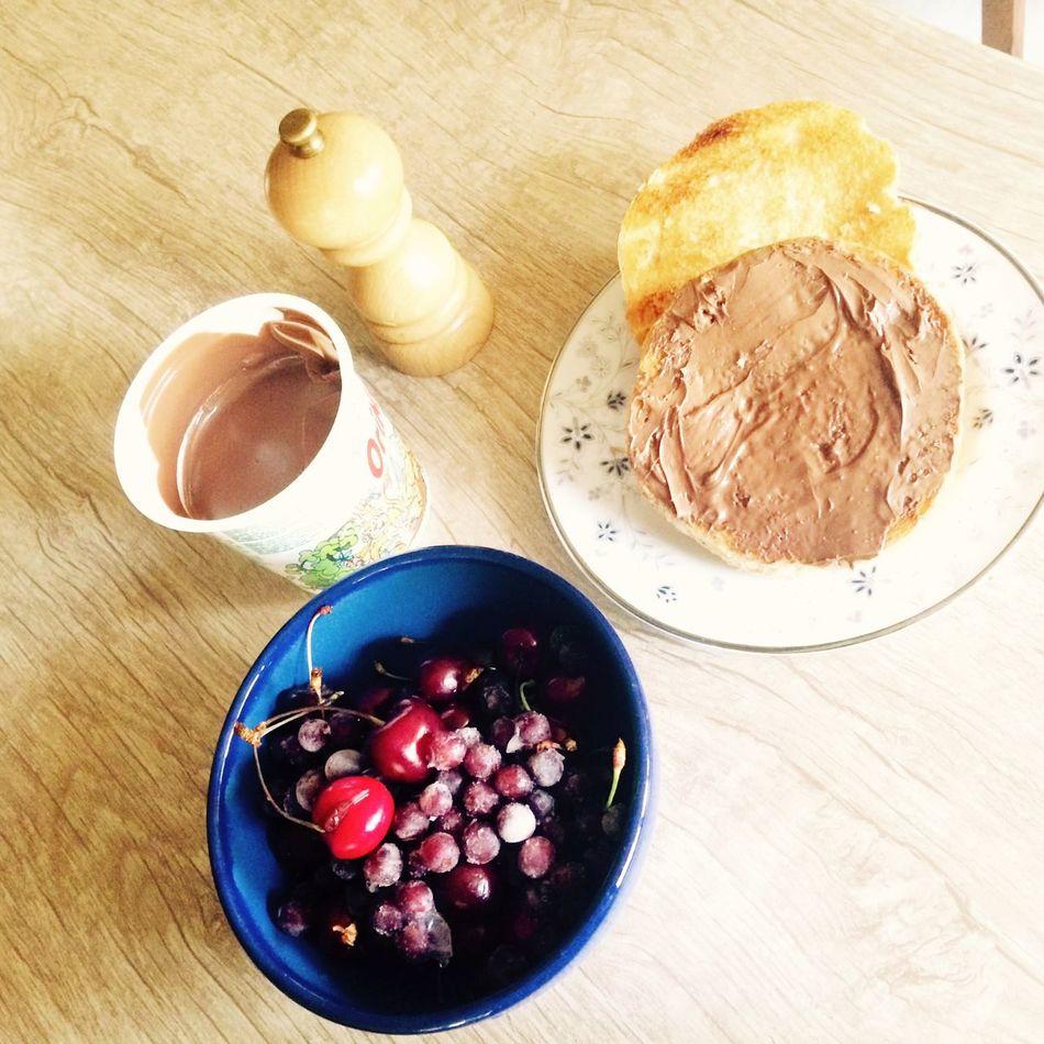 Best breakfast with frozen fruits:D Breakfast