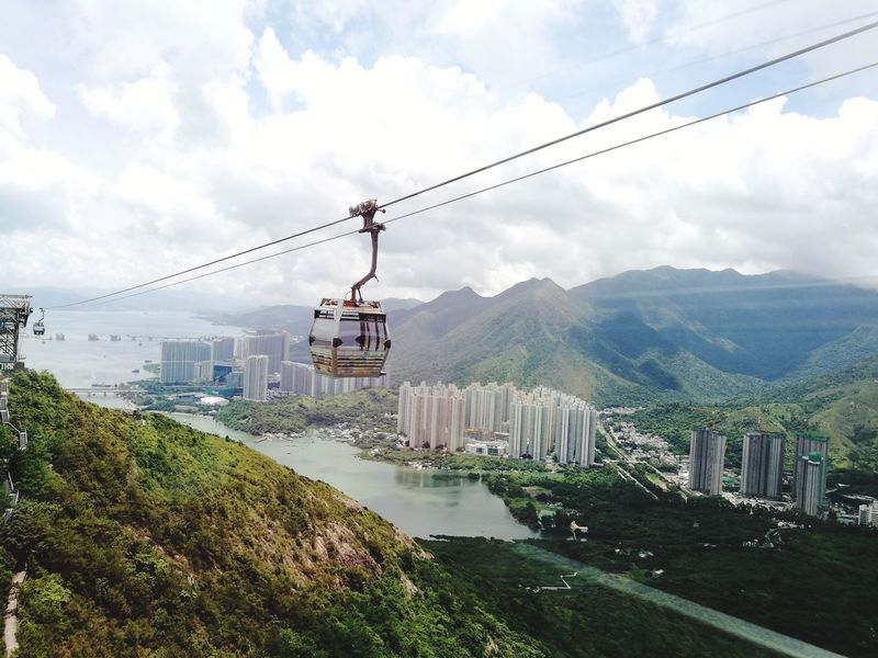 Vacations Tropical Climate Cablecars Sky And Clouds Travel Destinations
