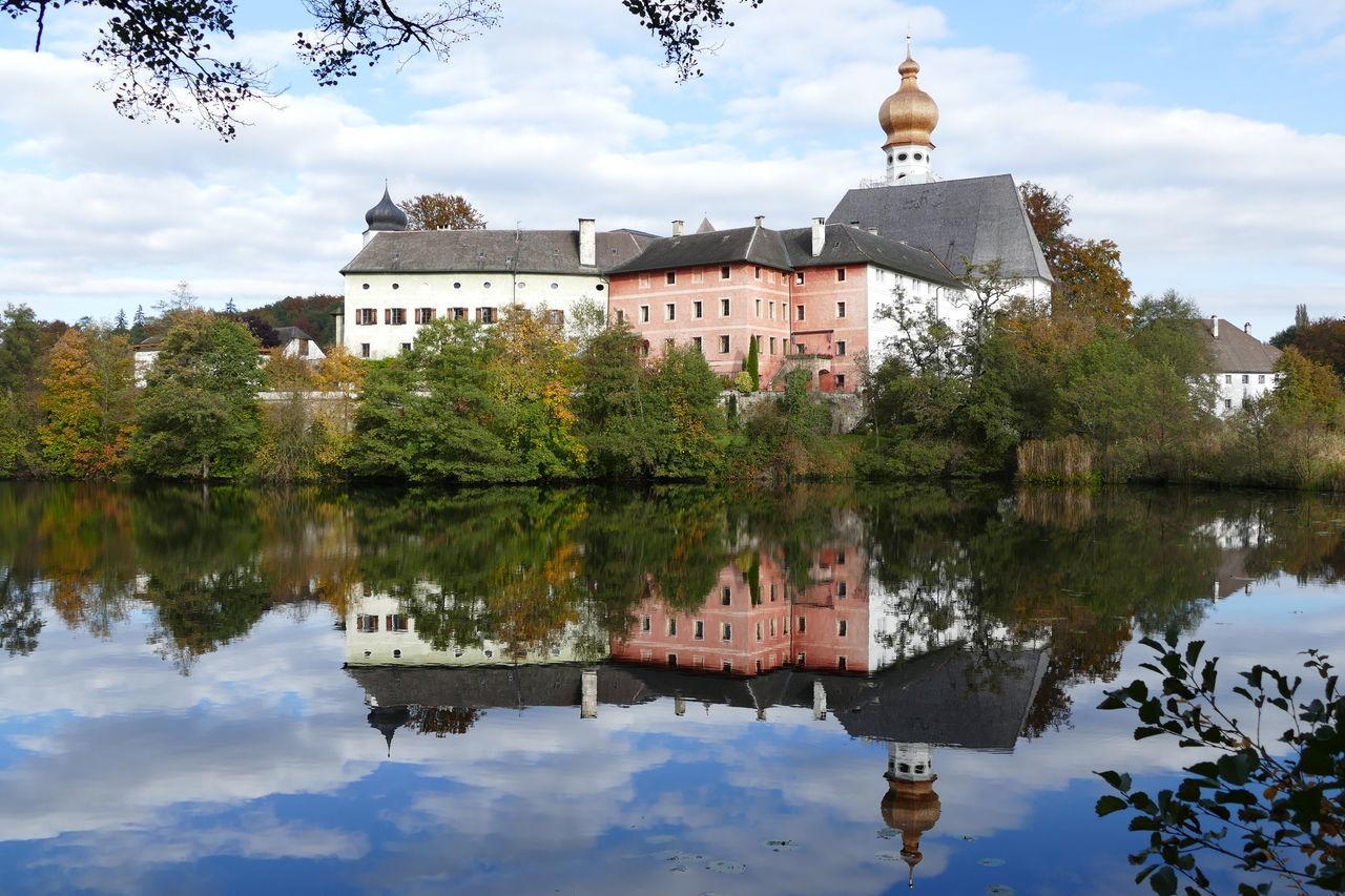 Badesee Bayern Germany Erholung Pur Höglwörther See Kloster Kloster Höglwörth