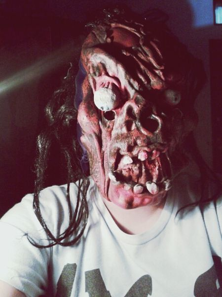 i will come to your sleep! Hi! Scary Face Mask
