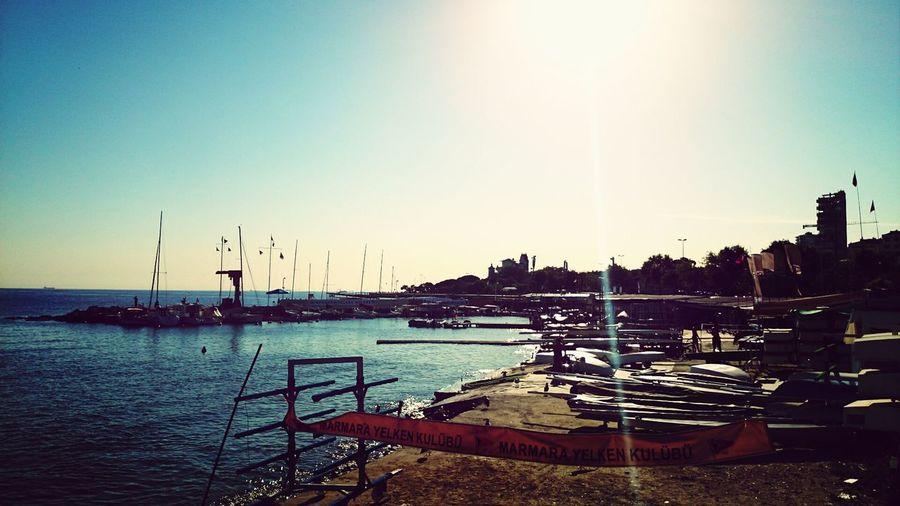 Sunshine ☀ Caddebostan Sahil Sea