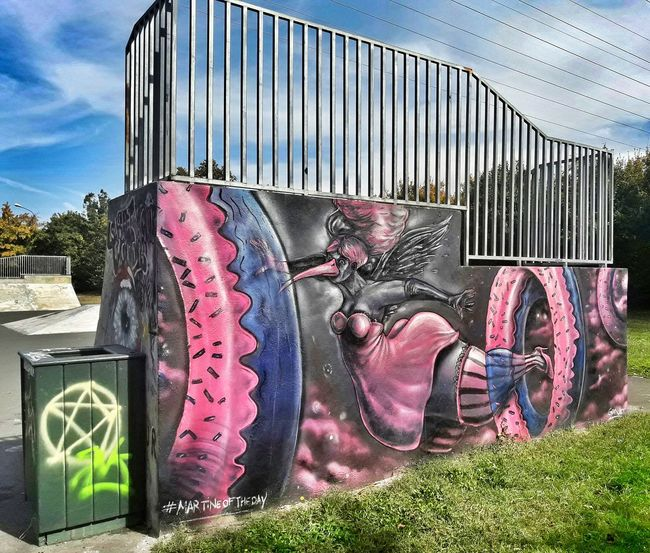 Street Architecture EyeEm Streetphotography Graffiti Painted Image Street Art France Aerosol Can EyeEmBestPics Multi Colored Art And Craft Spray Paint Spraying Creativity Lifestyles EyeEm Best Shots Eye4photography